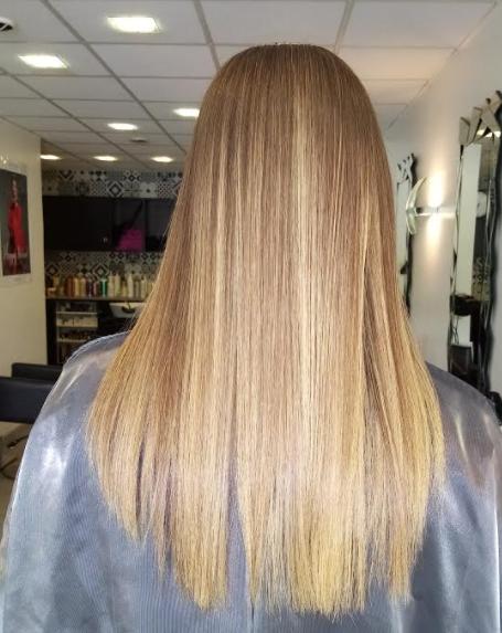 Lissage brésilien cheveux ondulés